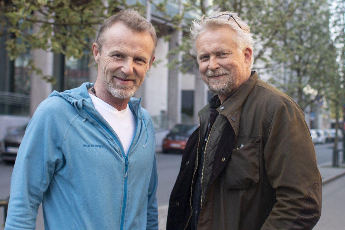 Dennis Storhøi og Jo Nesbø