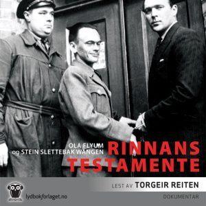 Lydbok - Rinnans testamente-