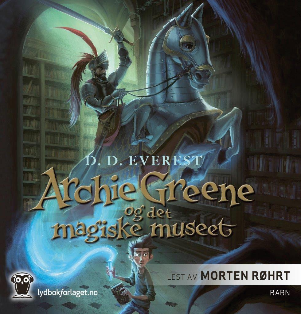 Lydbok - Archie Greene og det magiske museet-