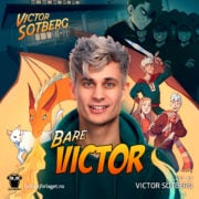 Lydbok - Bare Victor-